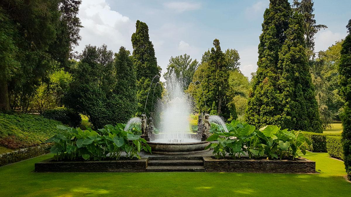 I giardini botanici di Villa Taranto, la Fontana dei Putti
