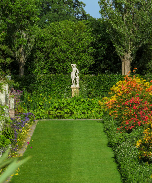 Moat walk, Sissinghurst Castle Garden