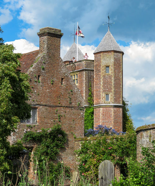 Una veduta della Tower di Sissinghurst Castle Garden