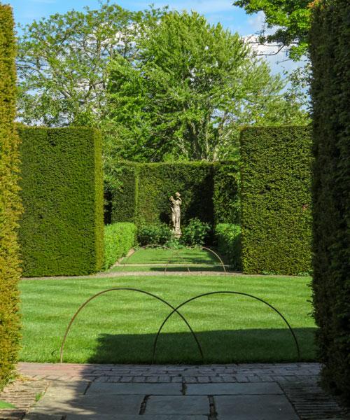 Rondel in Sissinghurst Castle Garden