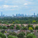 Londra vista da Richmond Park