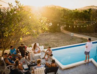 Quando sta per arrivare l'estate, una delle cose a cui penso sono sicuramente le serate con gli amici