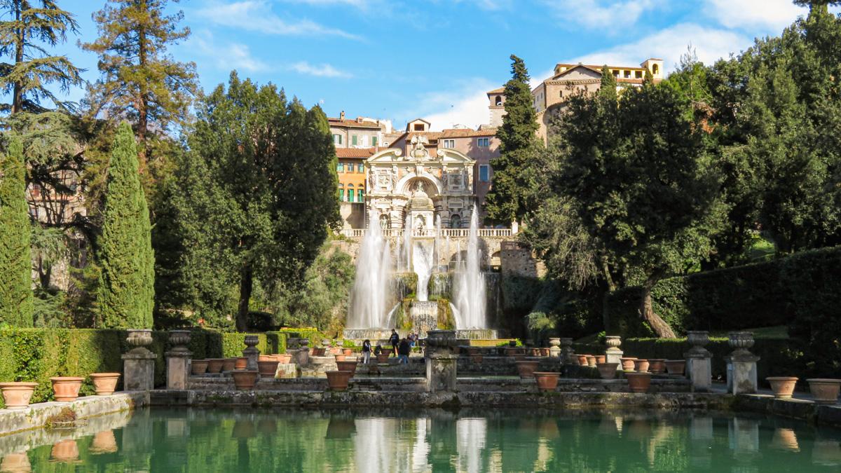 Villa d'Este a Tivoli, la Fontana di Nettuno