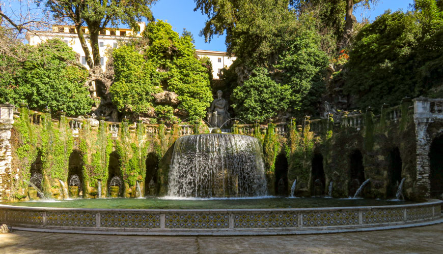 La Fontana dell'Ovato o Fontana di Tivoli
